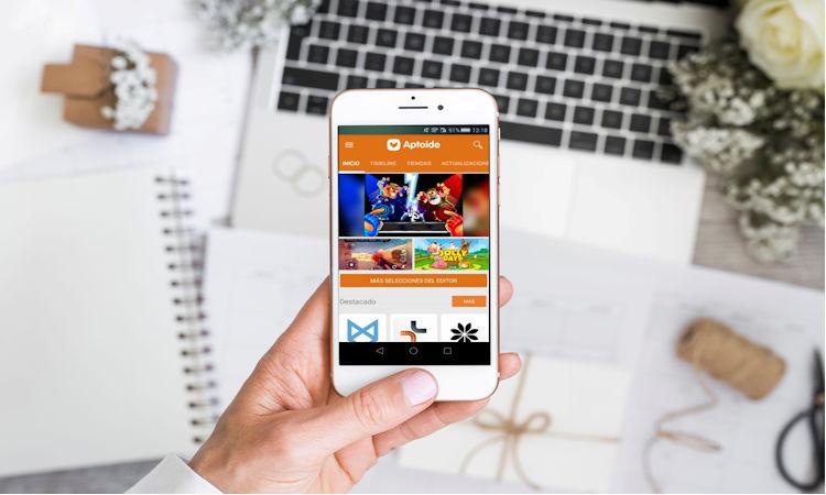 Aptoide tienda de aplicacioens
