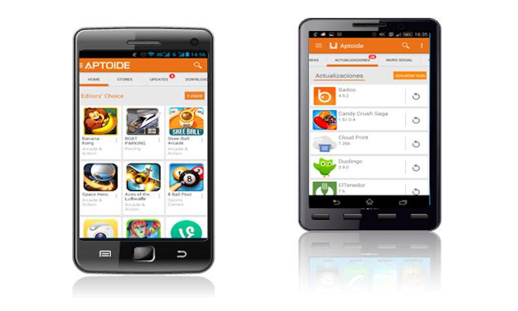 Aptoide tienda de aplicaciones para Android
